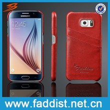 Perfect fit PU leather phone case for Samsung S6 G9200