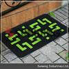 large plastic living room coil floor mat