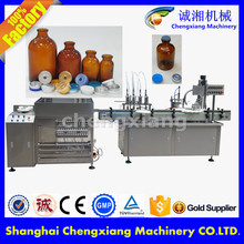 Full Automatic filling capping and labeling machine,bottle washing filling capping machine(shanghai factory)