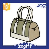 ZOGIFT New arrival cartoon bag popular tank pattern bag 2d element bag