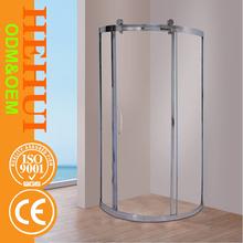 MT-C202 obscure back board shower enclosure sliding glass shower doors e 2 fix 2 sliding shower enclosure