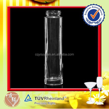 Wholesale transparent beverage 300ml glass juice bottle