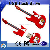 Alibaba Express In Spanish Product usb flash drive in guitar shape for gift bag