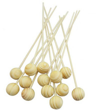 Scent Rattan Diffuser Stick With Ball Cap Reed Diffuser Aroma Stick Ball