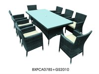 Synthetic Rattan Furniture Dining Set