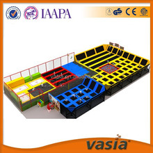 Amusement Indoor trampoline park for children and adults