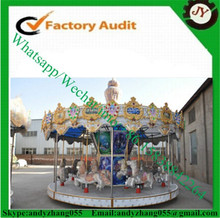 Popular musical outdoor merry go round with factory price