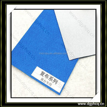 suede leather bonded fabric for jewelry tray & jewelry box showcase lining