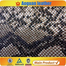 wholesale snake skin leather handbag material shoe raw leather T4581