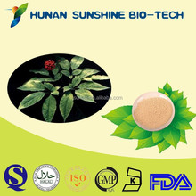 used in health product industry Brownish yellow powder Ginseng Extract