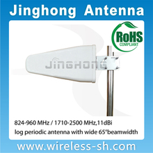 Dual band log period dipole yagi antenna