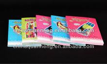 2015Newest design full color book printing