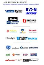 Hydraulics pumps, valves and parts, Eaton, Daikin, Commercial