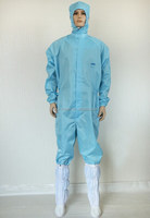 Samsung jumping suits/cleanroom lab coat/industry esd clothes
