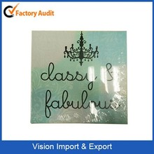 Fashion canvas painting wooden frame