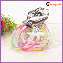 Promotional Custom New Fashion Cheap Colorful Silicon Wristband