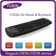Support RF USB ports 2.4G wireless keyboard