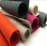 polyester needle punched nonwoven fabric various thinckness/GSM custom made
