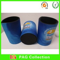 cylinder shape 5mm sublimation Coozie for neoprene material