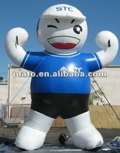 2012 Attractive inflatable boy customized size