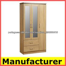 Diseño KD madera armario dormitorio,closet de madera para dormitorios,armarios de espejo