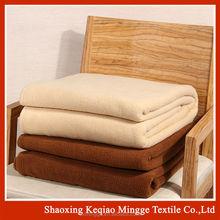 shaoxing mingge 100% polyester custom dyeing polar fleece wholesale, cheap polar fleece fabric