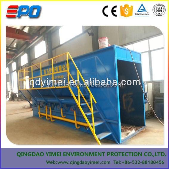Mini Wastewater Treatment Plant : Mini domestic sewage treatment plant