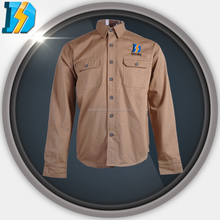 pant and shirt uniform with 200gsm twill cotton or canvas cotton