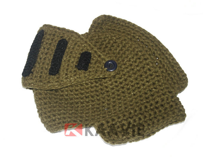 Knight Helmet Hat Free Knitted Pattern - Buy Crochet ...