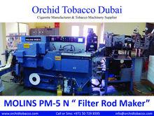 """MOLINS PM-5 N """"Cigarette Acetate Filter Rod Maker"""" Molins PM5 """"Filter Rod Making Machine"""""""