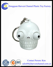 Funny soft PVC custom keychain for halloween gift