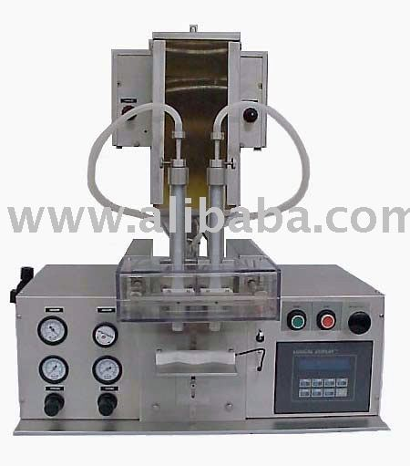table top powder filling machine