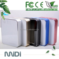 Best quality portable power bank durable Double USB Metal Aluminum Alloy Magic Square Cube power bank 10400mah for mobile