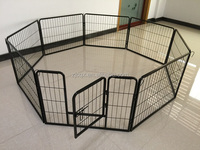 hot sale folding steel dog playpen metal dog fence