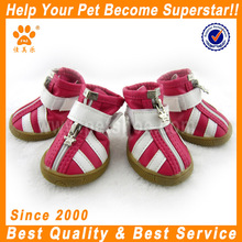JML hot sale cute dog accessory waterproof fabric non-skid sole dog boots