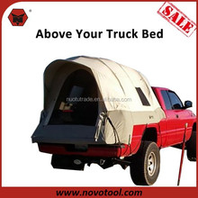 High Quality 5 Windows Soft Shell Canvas Truck Bed Top Tent For Sale/Top Roof Tent