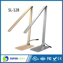 Sl-128 flessibile pieghevole portato lampada da tavolo luce fabbrica led importatori