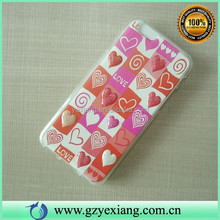 Cell Phone Soft TPU 3D Image Back Cover Case For Iphone 6 Custom Printing