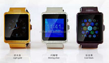 Multi-color P6 smart watch MTK6260A support SIM card/ID card/Video/SMS