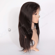 Natural Hairline Human Hair Full Lace Wig with Baby Hair, Best Indian Women Hair Wig Vendor