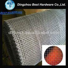 De aceroinoxidable de malla de alambre cuadrado para la esgrima y el filtro( fábrica)