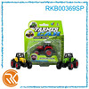 1:60 small diecast pull back farm tractor toy
