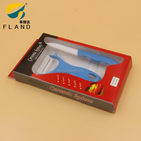 YangJiang manufacture 2 Pcs Ceramic Knives Set With 3 Inch Knife And A Peeler