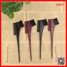 YASHI hair salon plastic dye tint brush,comb brush,hair coloring brush