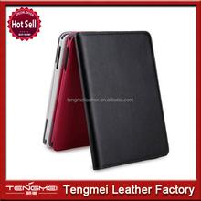 Fashion cheap pu leather mobile phone protective case for ipad mini