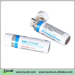 Lycek high speed 18650 battery Lithium-ion rechargeable lipo battery
