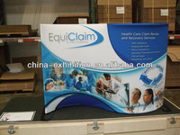 oval shape pop up banner