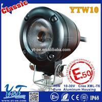 Y&T 10W autobike pure aluminum casing led tail lig , autobike rear light red leds, autobike red led back lamp