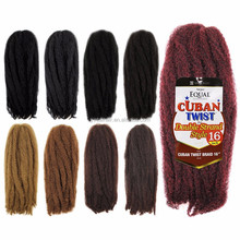 Synthetic Hair Weave Double Strand Style Havana Twists Mojito Twists Weave