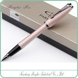 2015 luxury Metal urban gel parker cap-off hot style metal parker ink refill pen